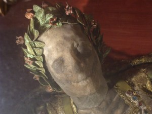San Teodoro, morto e contento